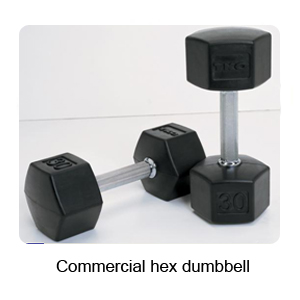 Commercial Hex Dumbbell