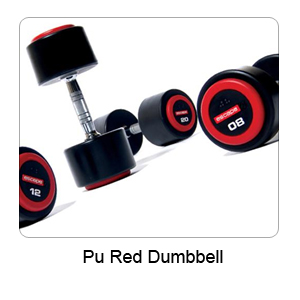 PU Red Dumbbell