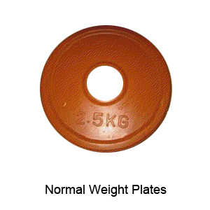 Normal Rubber Weight Plates