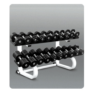 Dumbbell Stand 2 Tier