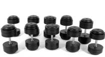 Powder Coated Plate Dumbbell